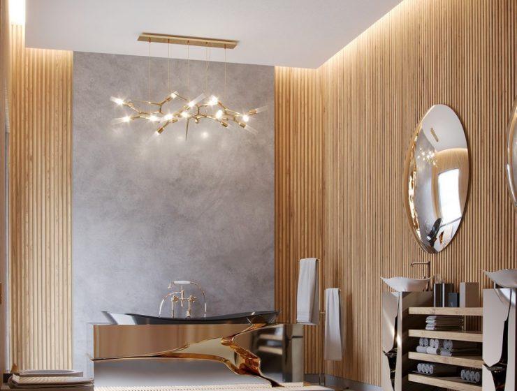 contemporary master bathroom Extravagant Contemporary Master Bathroom By Natan Argente vista 02 740x560