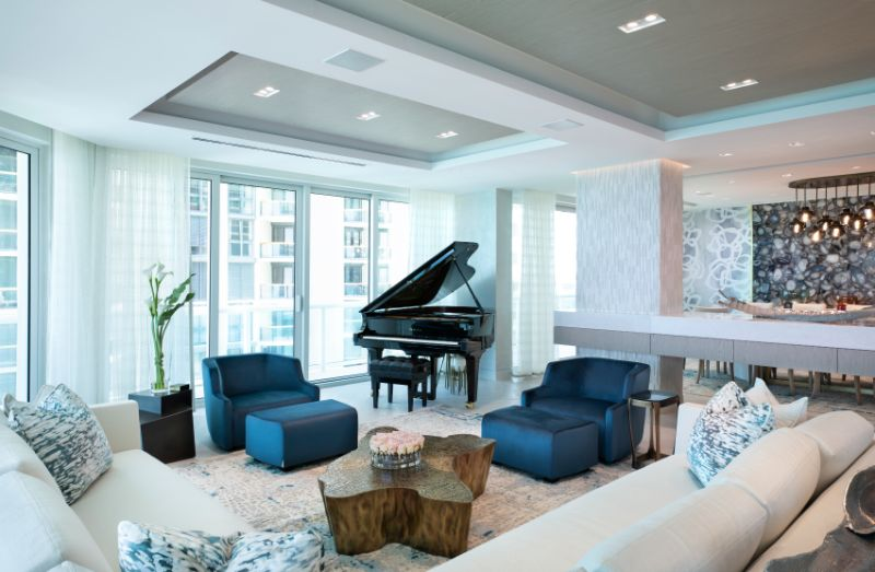 A Nature-Inspired Interior Design Project In Miami By Sarah Z Designs
