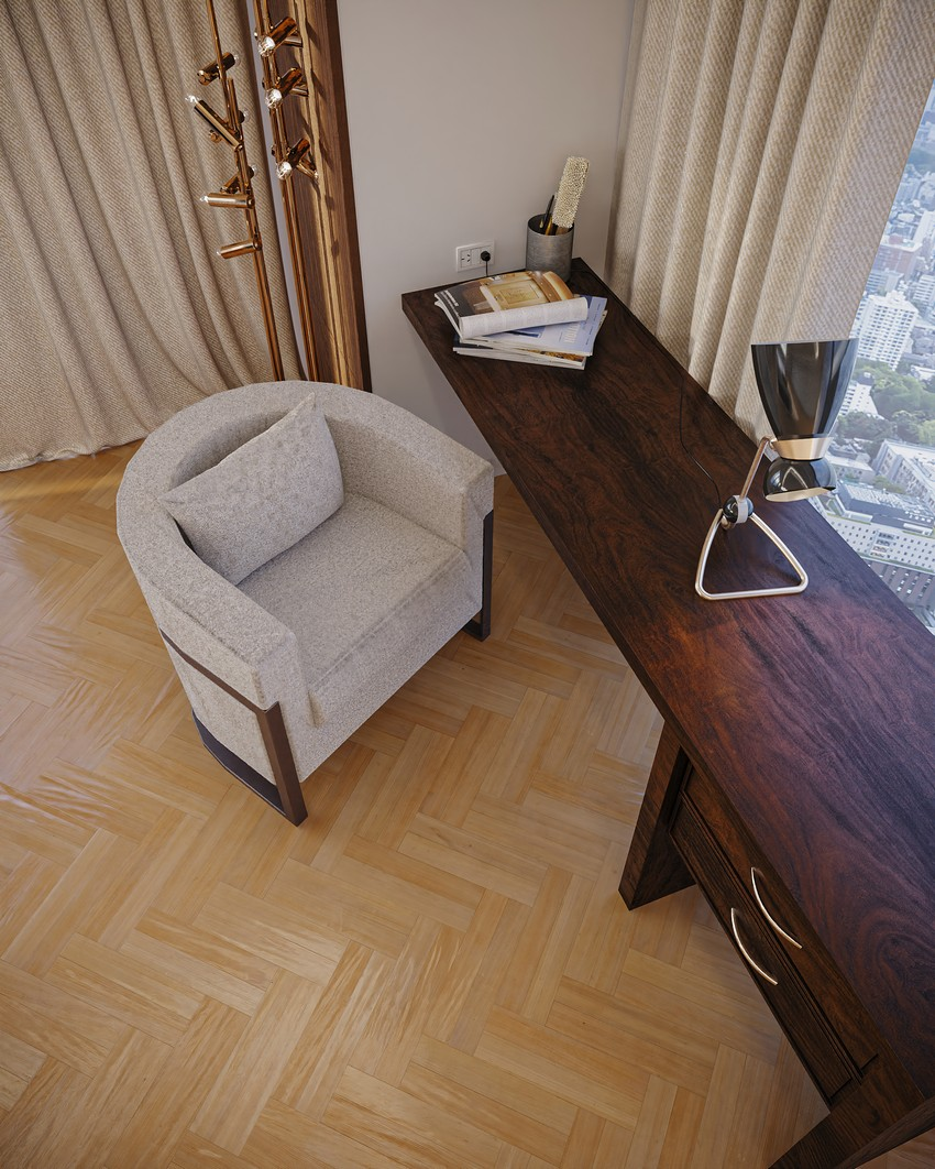 Discover A Neutral Modern Office By Sergio Caparelli