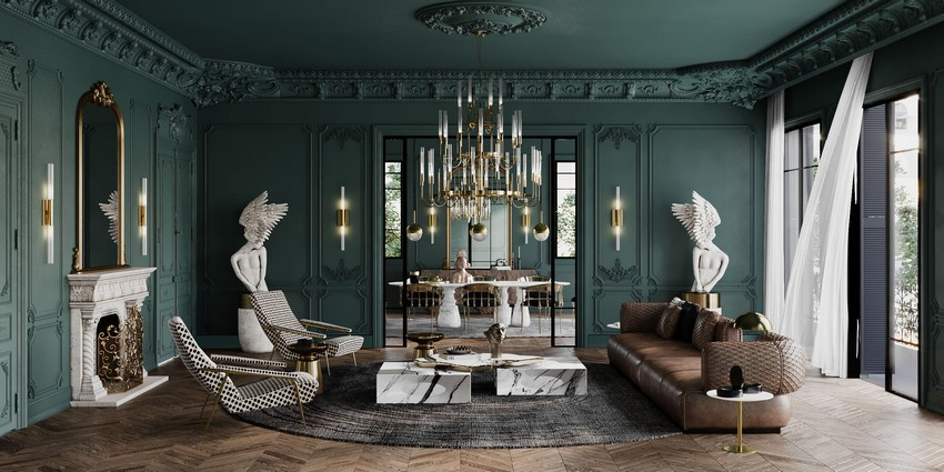 The Exuberant Art House: A Dining Room By Sarah Habib
