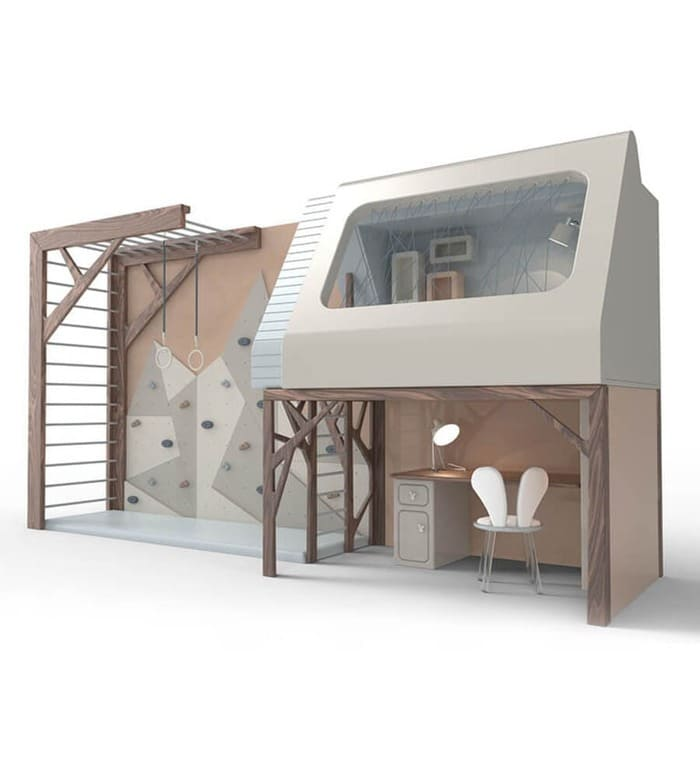 Mogli Playhouse Bunkbed By Circu Magical Furniture