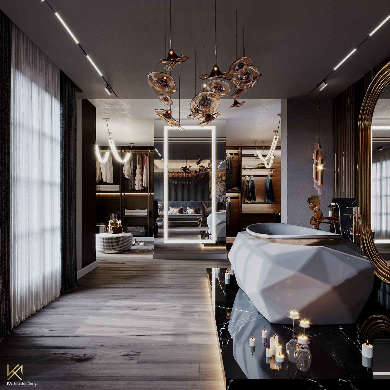 Covet House x K.A Interior Design:  A Opulent Modern Classic Villa In Riyadh covet house k a interior design opulent modern classic villa riyadh 12