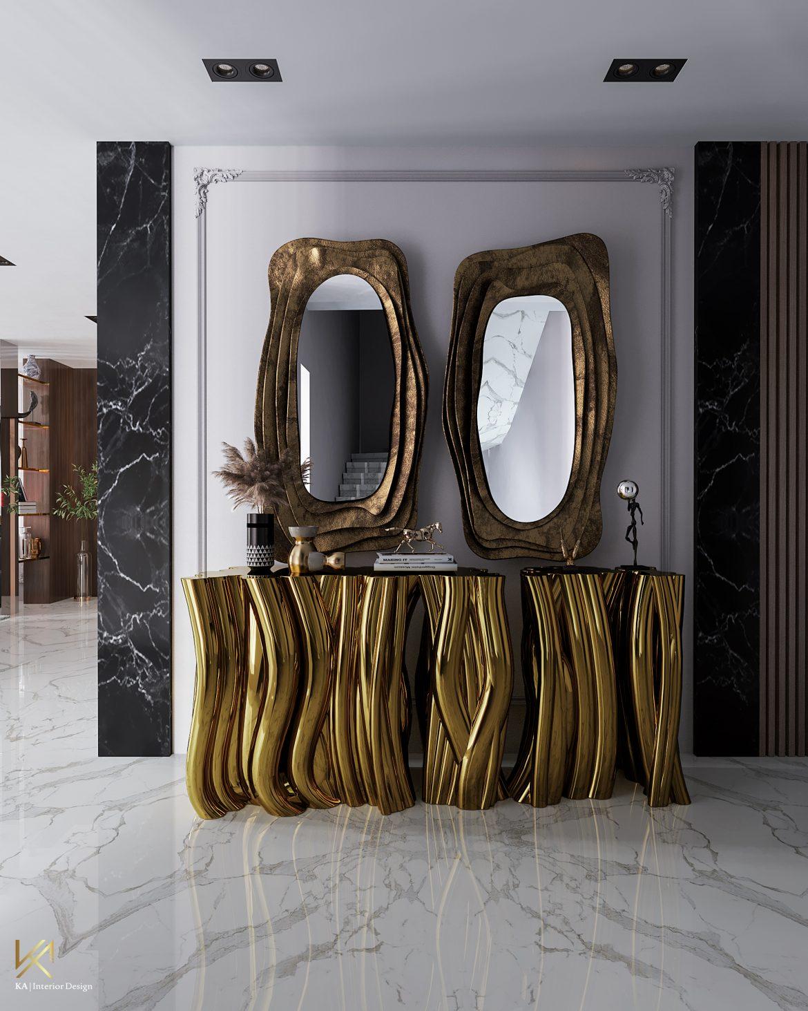 Covet House x K.A Interior Design:  A Opulent Modern Classic Villa In Riyadh covet house k a interior design opulent modern classic villa riyadh 2