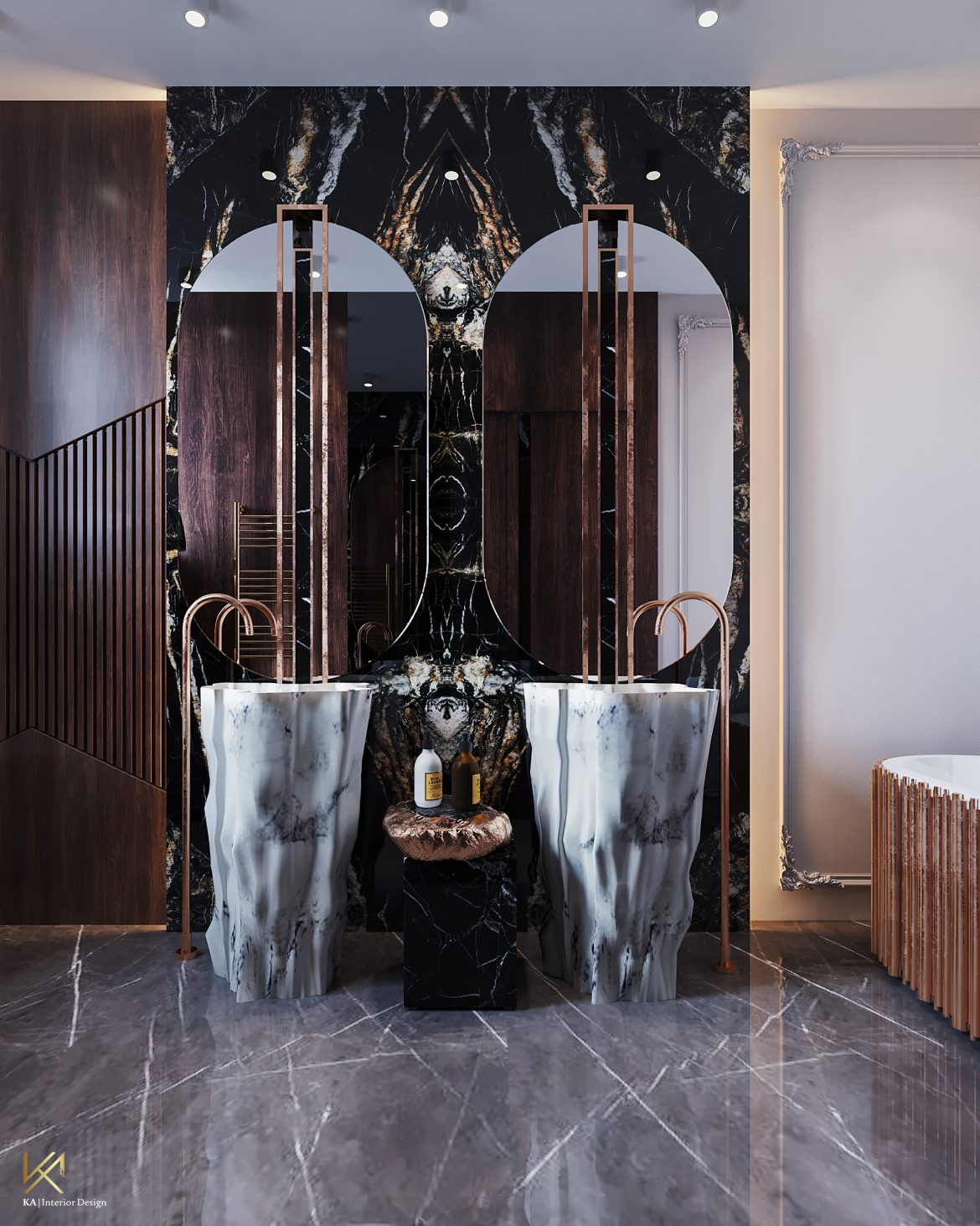 Covet House x K.A Interior Design:  A Opulent Modern Classic Villa In Riyadh covet house k a interior design opulent modern classic villa riyadh 4