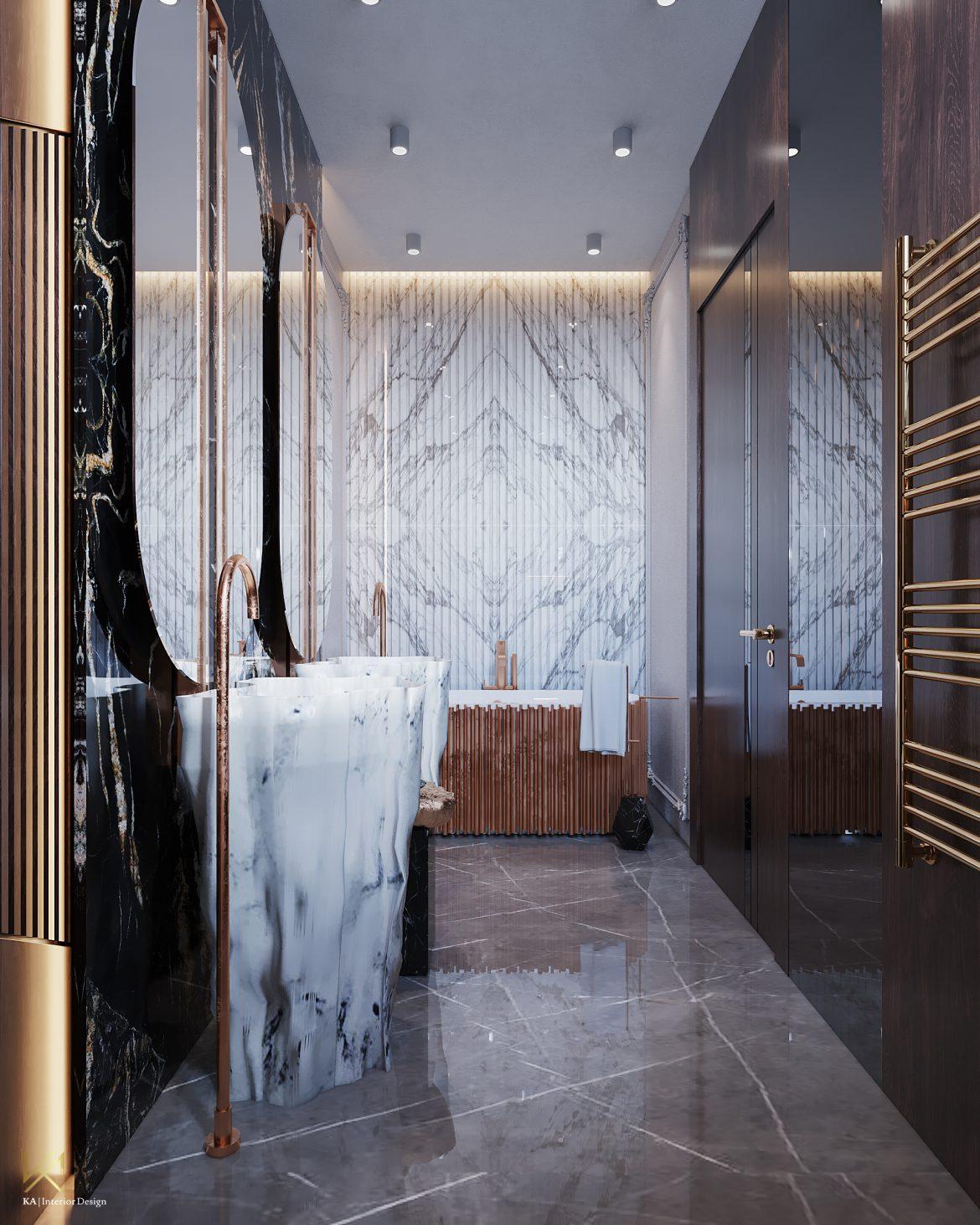 Covet House x K.A Interior Design:  A Opulent Modern Classic Villa In Riyadh covet house k a interior design opulent modern classic villa riyadh 5